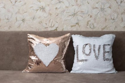 How to Make Your Living Room or Bedroom Look Amazing with Sequin Pillows